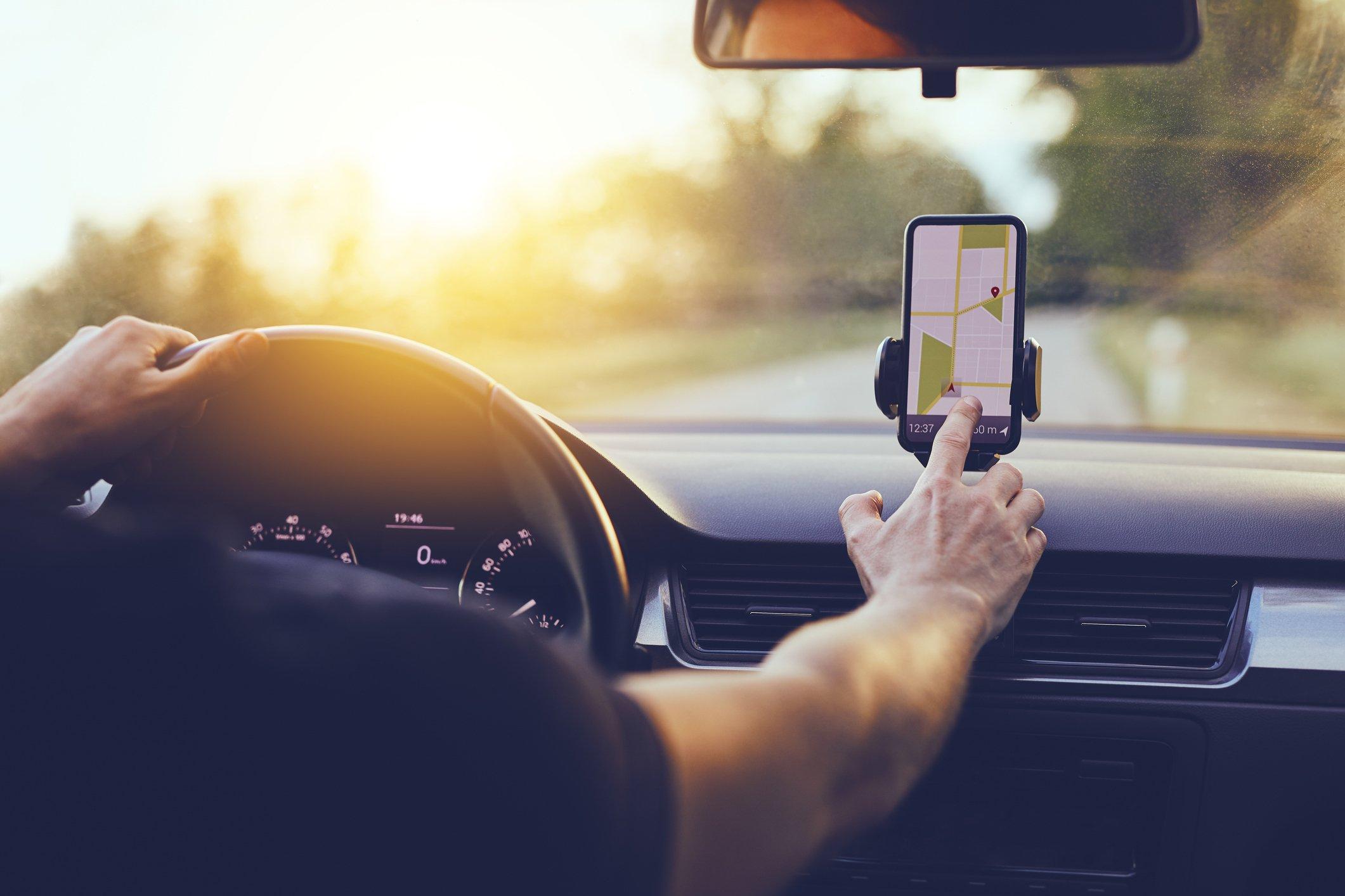 TomTom Speed Camera informing GPS