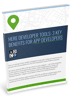 HERE Developer Tools: 3 Key Benefits for App Developers