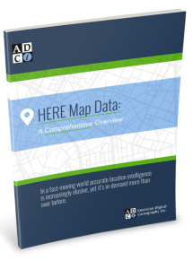 HERE Map Data: A Comprehensive Overview