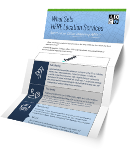 HERE Location Services Fact Sheet